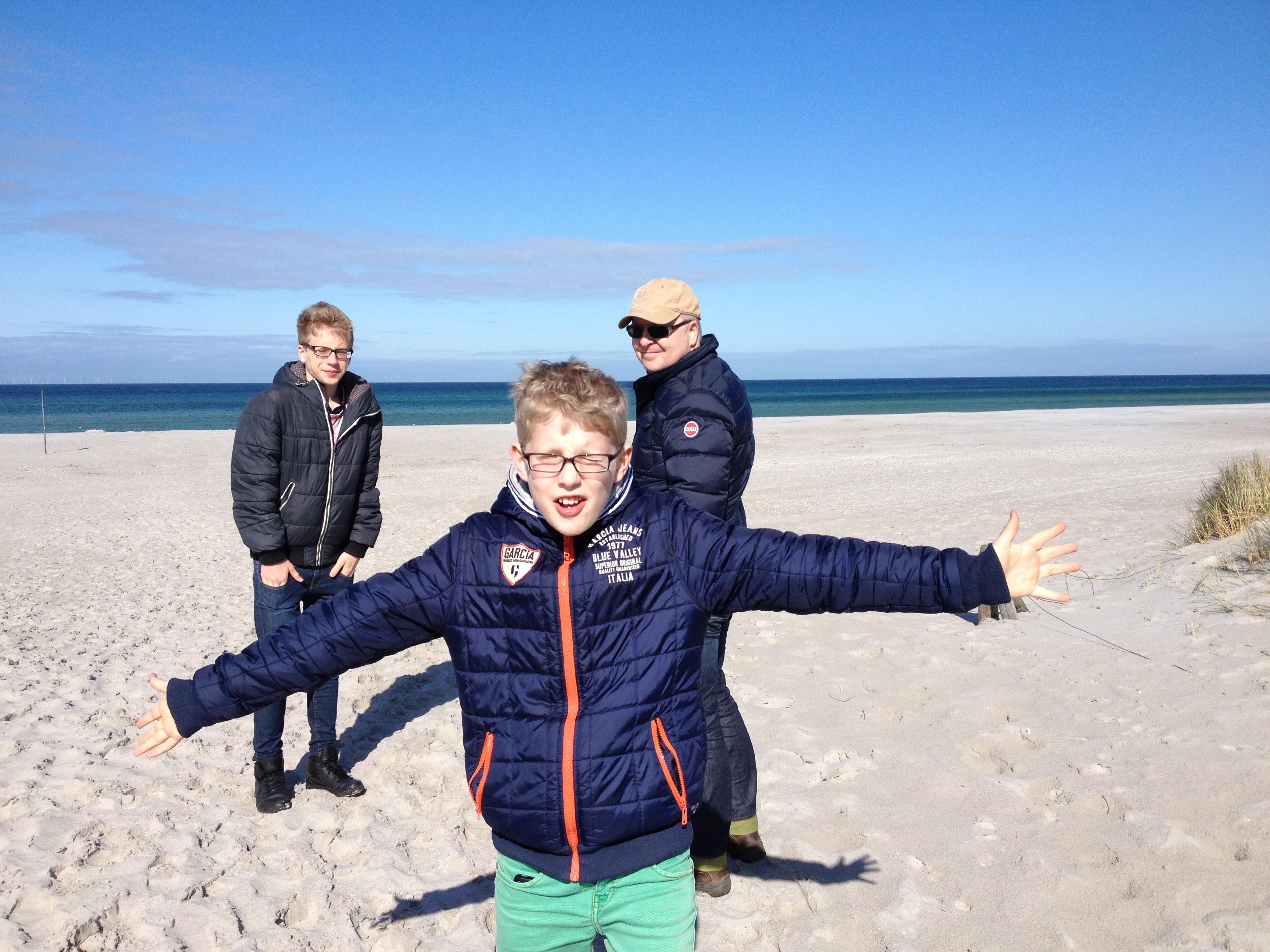 Max, Arne, Joe, April 2014